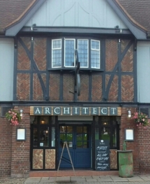 Architect frontage