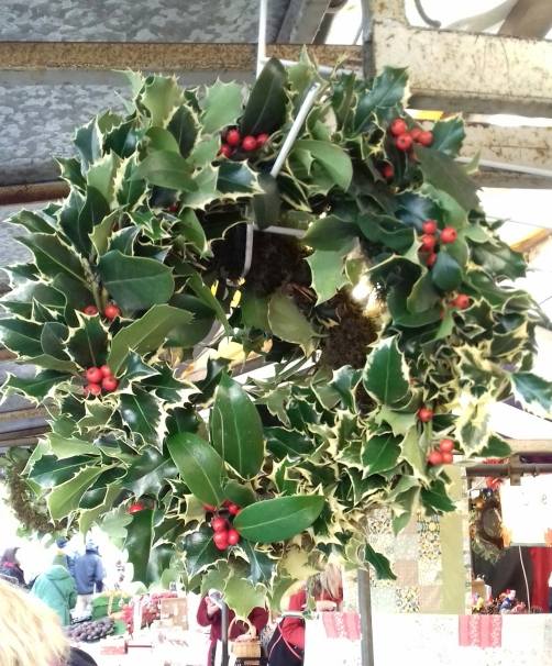 Holly wreath