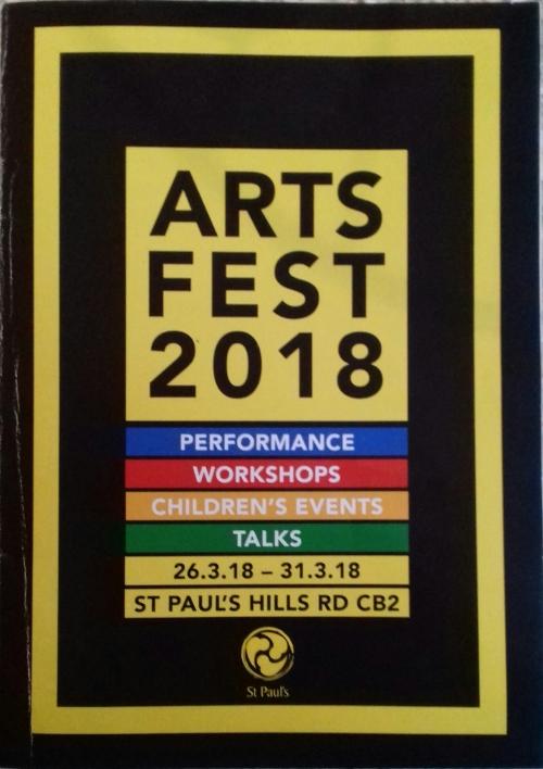 Artsfest 2018 poster