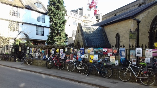 Railings at St Bene't's Church, Cambridge