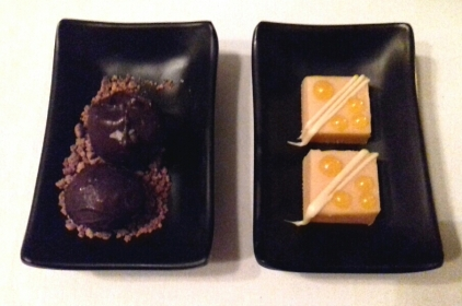 Restaurant Twenty-Two petits fours