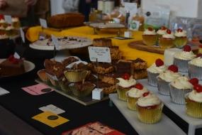 Vegan Market cakes