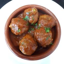 Tu Casa Tapas meatballs