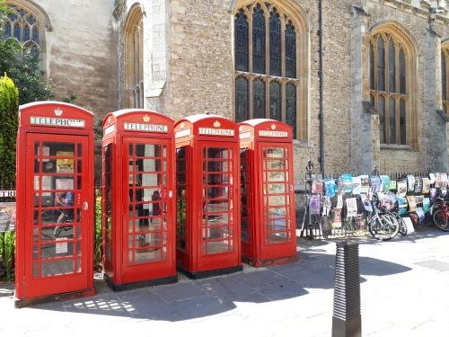 Telephone boxes Cambridge