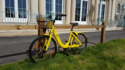 ofo bicycle Cambridge