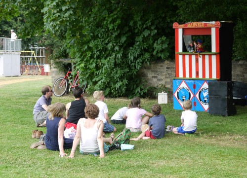 Punch and Judy Show Cambridge