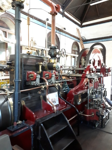 Hathorn Davey pumping engine Cambridge Museum of Technology