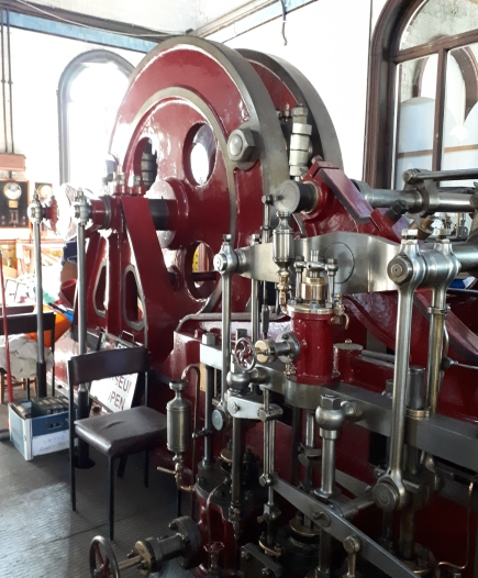 Hathorn Davey pumping machine Cambridge