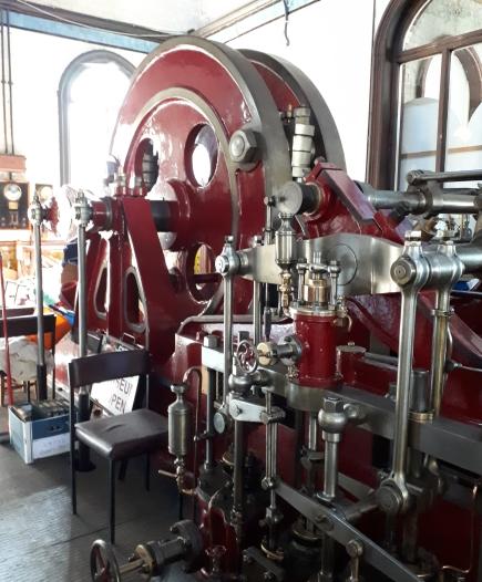 Hathorn Davey pumping machine Cambridge