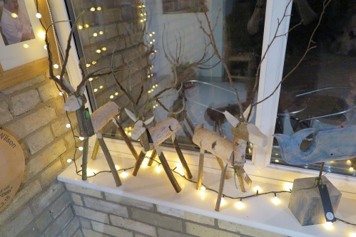 Rowan Cambridge reindeers