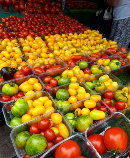 Tomatoes at Cambridge Market