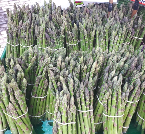 Asparagus at Cambridge Market