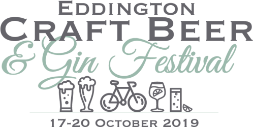 Eddington Craft Beer and Gin Festival logo