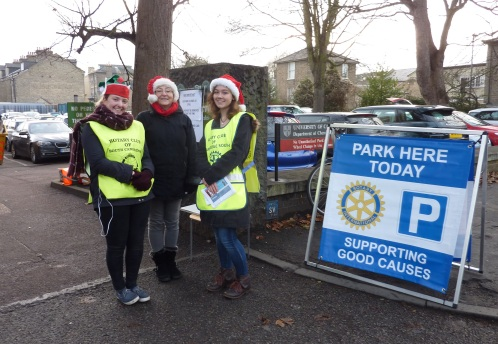 Rotary Club of Cambridge South Christmas car parking