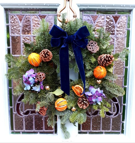 Christmas wreath by Feather & Ferns