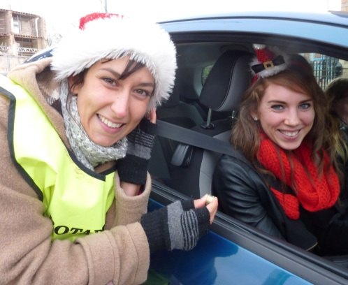 Rotary Club of Cambridge South Christmas car parking