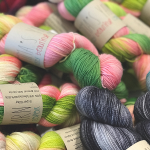 Knitting Needle Lane yarn